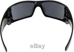 Oakley Men's Gradient Batwolf OO9101-01 Black Shield Sunglasses