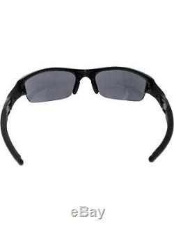 Oakley Men's Gradient Flak Jacket 03-881 Black Wrap Sunglasses