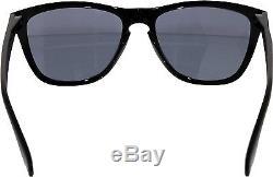Oakley Men's Gradient Frogskins 24-306 Black Square Sunglasses