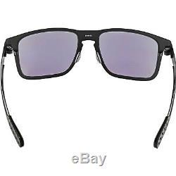 Oakley Men's Gradient Holbrook Metal OO4123-04 Black Square Sunglasses