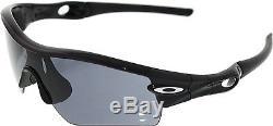 Oakley Men's Gradient Radar-Path 09-670 Black Shield Sunglasses