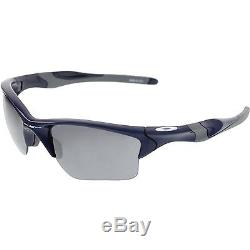 Oakley Men's Half Jacket 2.0 Xl OO9154-24 Blue Rectangle Sunglasses