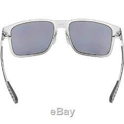 Oakley Men's Holbrook Metal OO4123-03 Silver Rectangle Sunglasses