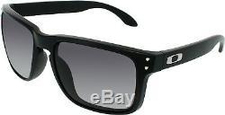 Oakley Men's Holbrook OO9102-01 Black Square Sunglasses