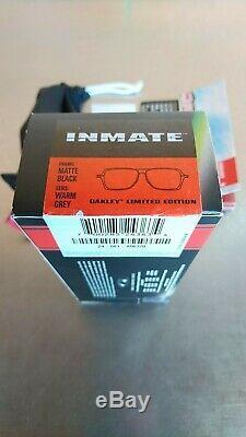 Oakley Men's Inmate Ducati Limited Edition 24-081 Sunglasses Matte Black Rare