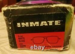 Oakley Men's Inmate Ducati Matte Black Grey Iridium Lens 24-081 Sunglasses Rare