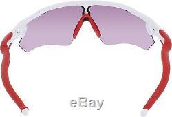 Oakley Men's Interchangeable Radar Ev Path OO9208-05 White Goggle Sunglasses