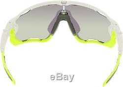 Oakley Men's Jawbreaker OO9290-03 White Shield Sunglasses