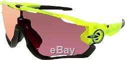 Oakley Men's Jawbreaker OO9290-11 Green Shield Sunglasses