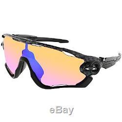 Oakley Men's Jawbreaker OO9290-25 Black Shield Sunglasses