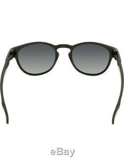 Oakley Men's Latch OO9265-01 Black Round Sunglasses