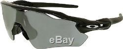Oakley Men's Mirrored Radar Ev Path OO9208-01 Black Shield Sunglasses