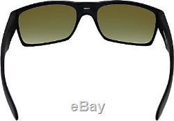 d6ce65909ee Oakley Men s Mirrored Twoface Oo9189-08 Black Rectangle Sunglasses