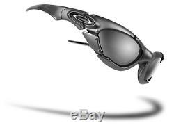 Oakley Men's Plate Sunglasses Silver Black Iridium 03-850 Vintage & Rare USA