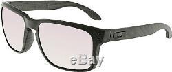 Oakley Men's Polarized Holbrook OO9102-B7 Grey Rectangle Sunglasses