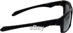 Oakley Men's Polarized Jupiter OO9135-09 Black Rectangle Sunglasses