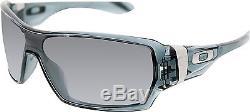 Oakley Men's Polarized Offshoot OO9190-05 Black Wrap Sunglasses