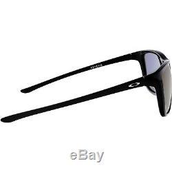 Oakley Men's Polarized Reverie OO9362-07 Black Square Sunglasses