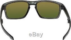 Oakley Men's Polarized Sliver F OO9246-06 Black Square Sunglasses