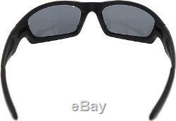 Oakley Men's Polarized Straight Jacket 24-124 Black Wrap Sunglasses