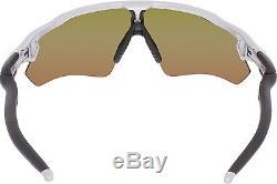 Oakley Men's Radar Ev Path OO9208-02 Silver Wrap Sunglasses