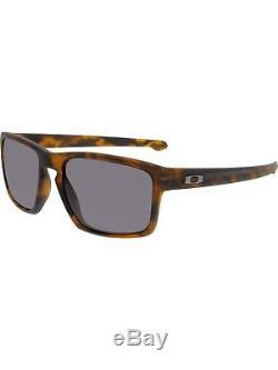 Oakley Men's Sliver OO9262-03 Brown Rectangle Sunglasses