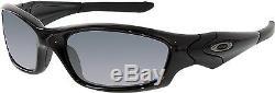 Oakley Men's Straight Jacket 04-325 Black Wrap Sunglasses
