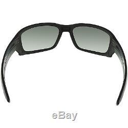 Oakley Men's Straight Link OO9331-14 Black Wrap Sunglasses