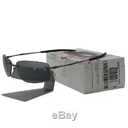 fcd147e2df Oakley Nanowire 2.0 Polarized 12-916 Pewter Black Iridium Rare Mens  Sunglasses