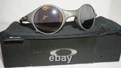 Oakley New Sunglasses Mars X Jordan Metal Black Iridium MO30864 04-103