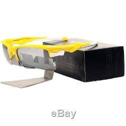 Oakley OCP FAST JACKET XL Lemon Peel Slate Iridium Custom Mens Sport Sunglasses