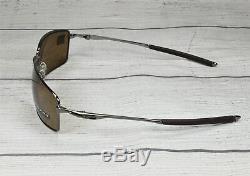 Oakley OO4075-14 SQUARE WIRE TUNGSTEN PRIZM TUNGS POLARIZED 60 mm Sunglasses