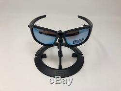 Oakley OO9236-19 POLARIZED PRIZM VALVE Black with Deep H2O Mens Sunglasses