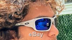 Oakley OO9236 Valve Cool Grey with Deep Blue polarized lens Authentic NEW
