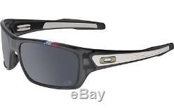Oakley OO9263 16 Tour De France Turbine Grey Smoke Black Iridium Men Sunglasses