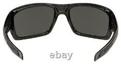 Oakley OO9263-4163 Men's Turbine Polished Black Frame / Prizm Black Polarized