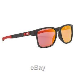 Oakley OO9272 07 Scuderia Ferrari Catalyst Sunglasses Matte Black / Ruby Iridium