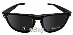 Oakley OO9377 Holbrook R Square Authentic Sunglasses Black Prizm polarized lens