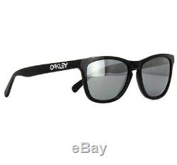0292e939a1 Oakley Oo 2043-01 Frogskin Lx Polished Black Grey Mens Sunglasses
