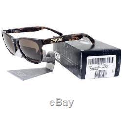 Oakley OO 2043-06 FROGSKINS LX Dark Brown Tortoise Dark Bronze Mens Sunglasses