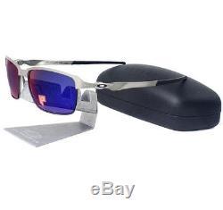 Oakley OO 4083-08 POLARIZED TINFOIL Light Positive Red Iridium Mens Sunglasses