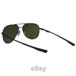 Oakley OO 4119-13 58 Elmont M Satin Black with Prizm Ruby Mens Womens Sunglasses