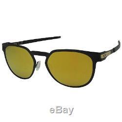 Oakley OO 4137-03 Diecutter Satin Black with 24K Iridium Lens Mens Sunglasses