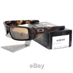 Oakley OO 9014-1660 GASCAN Matte Tortoise Tungsten Iridium Mens Sunglasses
