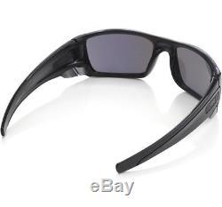 Oakley OO 9096-85 FUEL CELL Polished Black Ink Emerald Iridium Mens Sunglasses