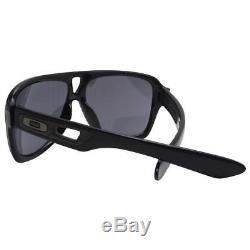 Oakley OO 9150-01 DISPATCH II 2 Polished Black Grey Mens Sport Sunglasses