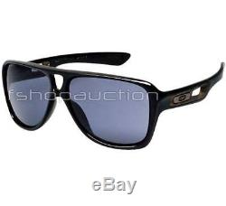 Oakley OO 9150-01 DISPATCH II 2 Polished Black Grey Mens Sport Sunglasses in Box