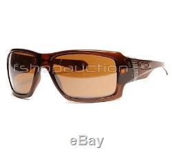 Oakley OO 9173-03 BIG TACO Polished Rootbeer Tungsten Iridium Mens Sunglasses