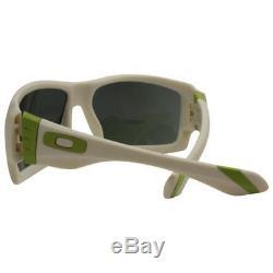Oakley OO 9173-07 BIG TACO Matte Bone Dark Grey Mens Sunglasses Clearance Sale