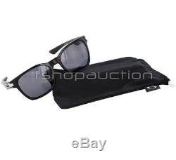 Oakley OO 9175-01 GARAGE ROCK Polished Black Frame Grey Mens Sunglasses in Box